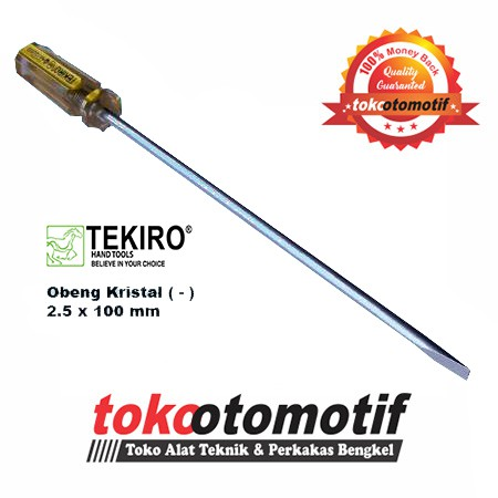 Obeng Kristal ( + ) PH00 x 50mm (2.5) TEKIRO ( Original ) |