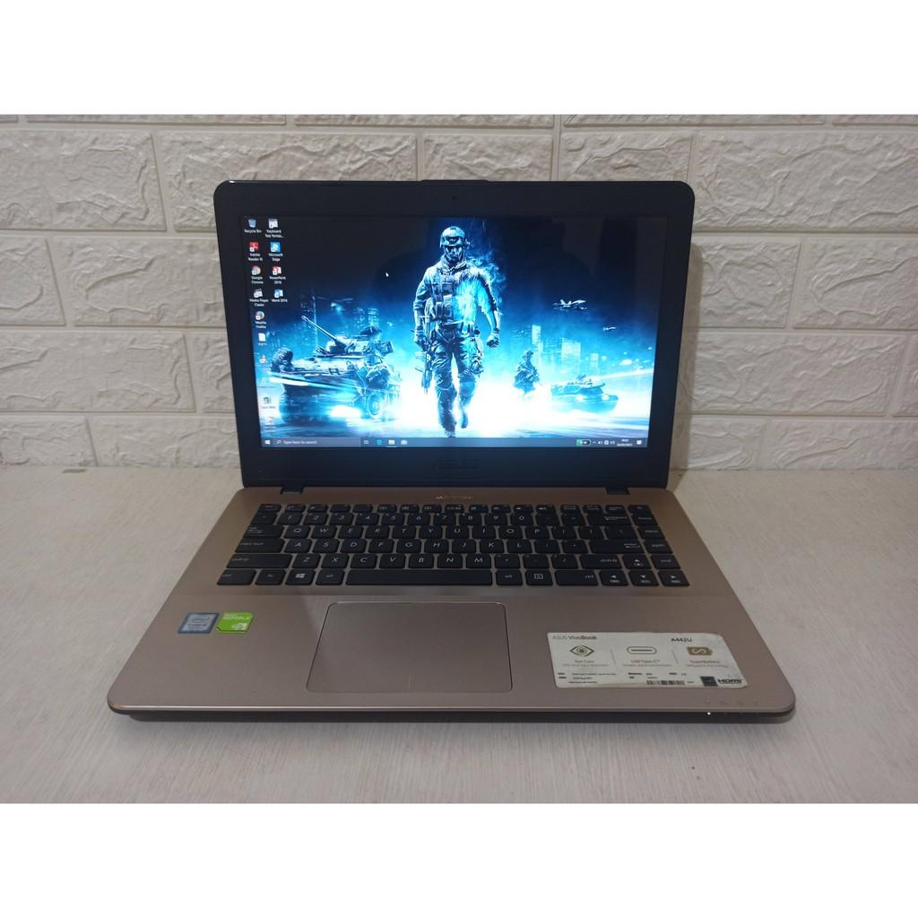 Asus A442UF Core i5 Gen-8 Nvidia MX130 RAM 8GB SSD/HDD | Laptop Second Gaming Murah rasa i7