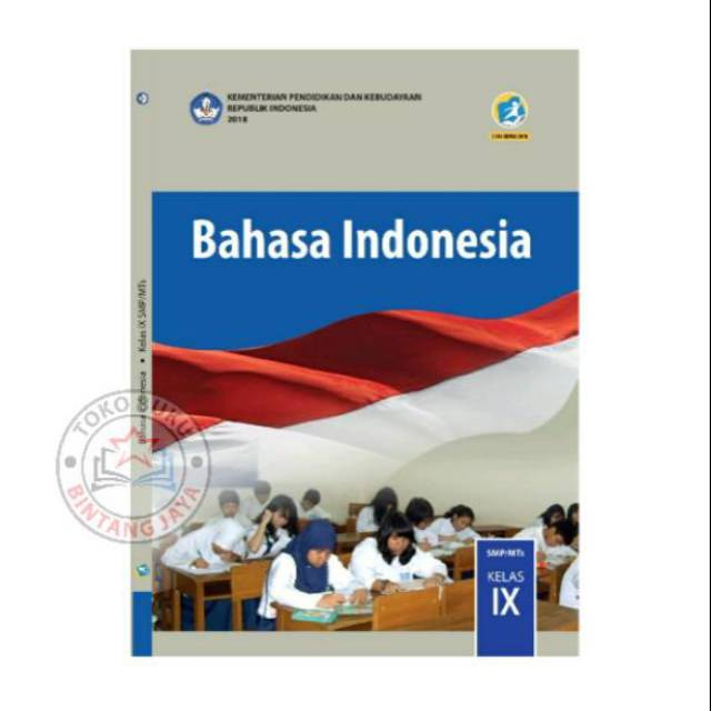 Buku Bahasa Indonesia Kelas 9 Kurikulum 2013 Revisi 2018 Shopee Indonesia