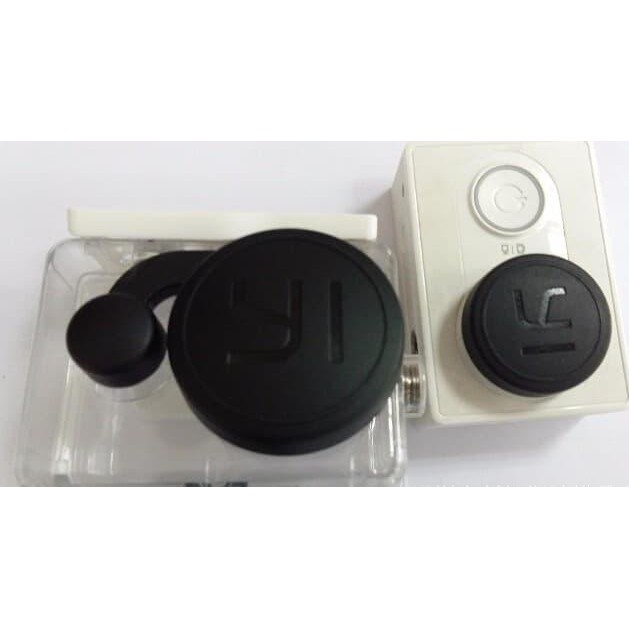 Plastic Lens Cap Cover tutup Pelindung Waterproof Case Lensa Xiaomi Yi | Shopee Indonesia