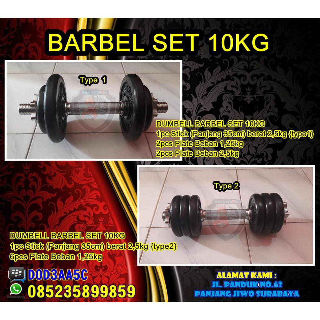 BARBEL KARET DUMBELL SET 27KG,5 BARBELL RUBBER DUMBEL BARBLE DUMBLE BURBLE DAMBLE GYM FITNESS BESI   Shopee Indonesia
