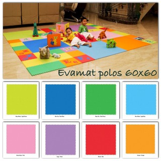 Matras /Tikar / Karpet / Puzzle alas lantai evamat / evamats polos 60x60 cm