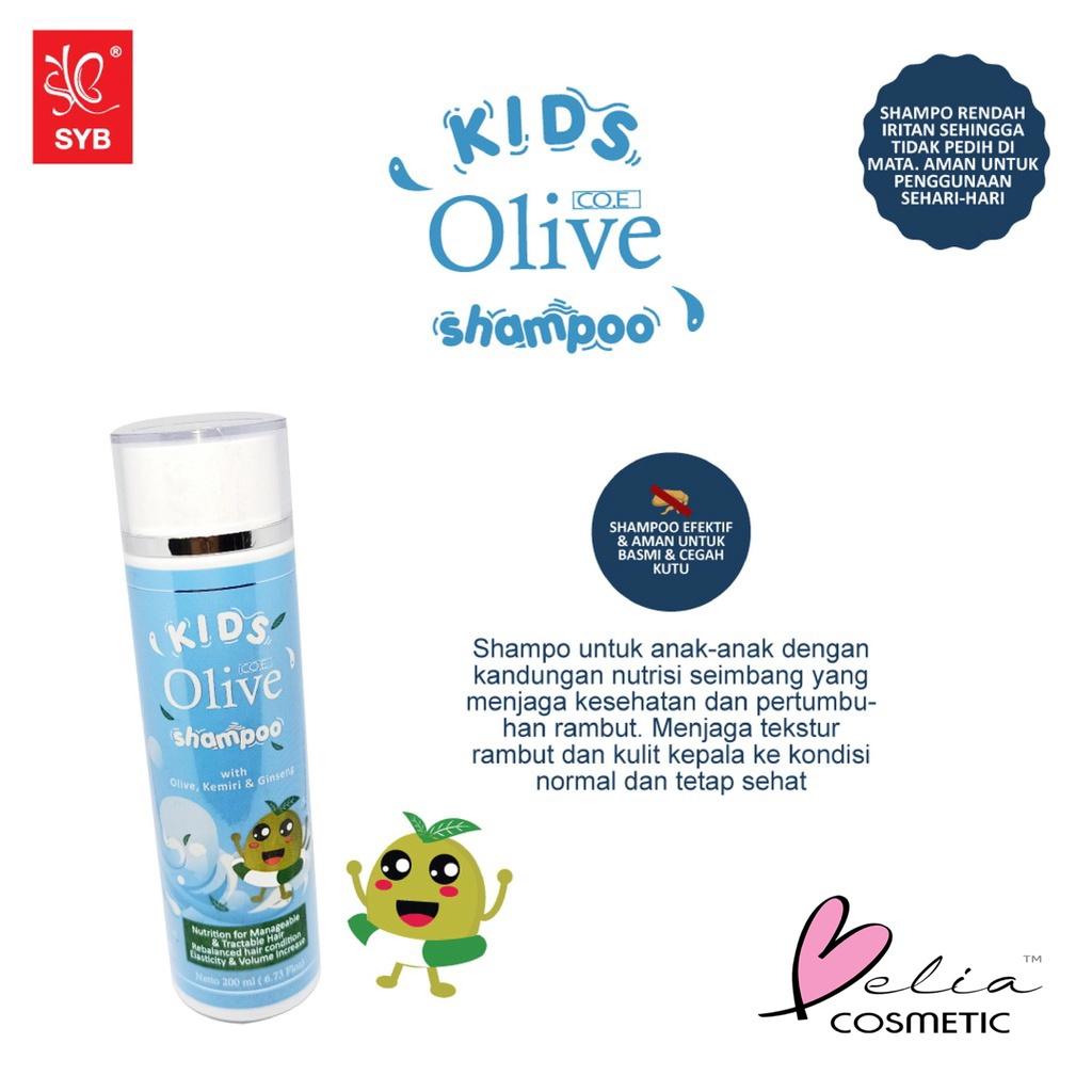 ❤ BELIA ❤ CO.E Olive Hair Treatment | Shampoo | Conditioner | Tonic | Shampo SYB (✔BPOM)-2