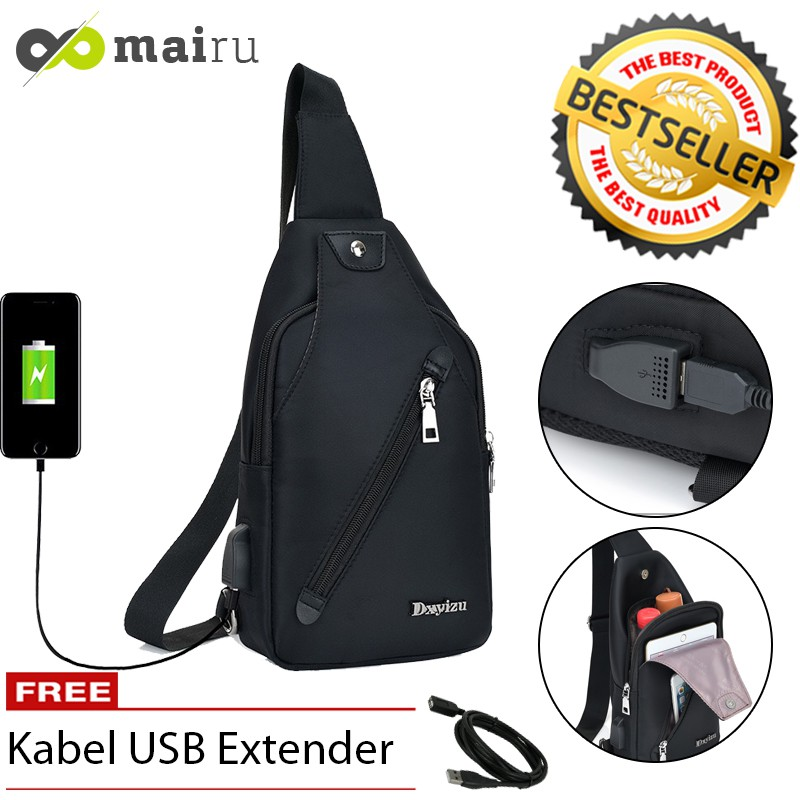 Unique Tas Selempang Sling Bag Ultralight Travel and Running Bag Tas Lari Sport | Shopee Indonesia
