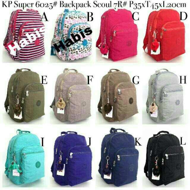 TERBARU Tas Kipling backpack City medium original ^ | Shopee Indonesia