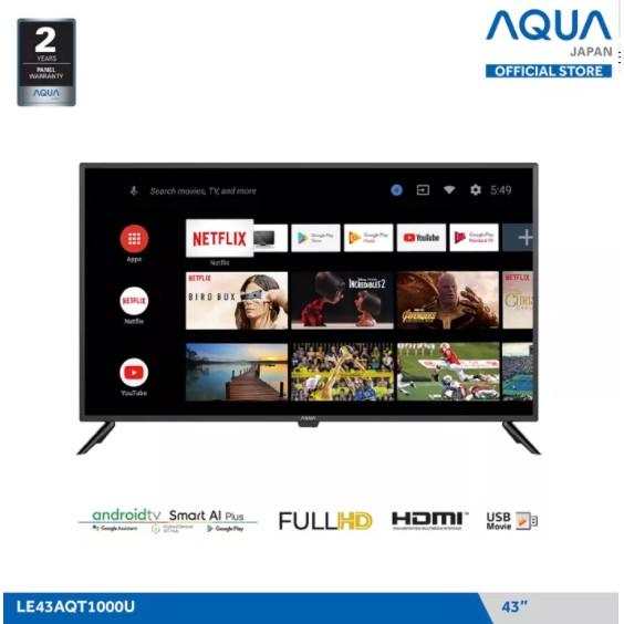 LED TV AQUA LE-43AQT1000U (43 Inch) Smart Android TV FHD