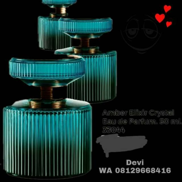 Amber Elixir Crystal Eau De Parfum Shopee Indonesia