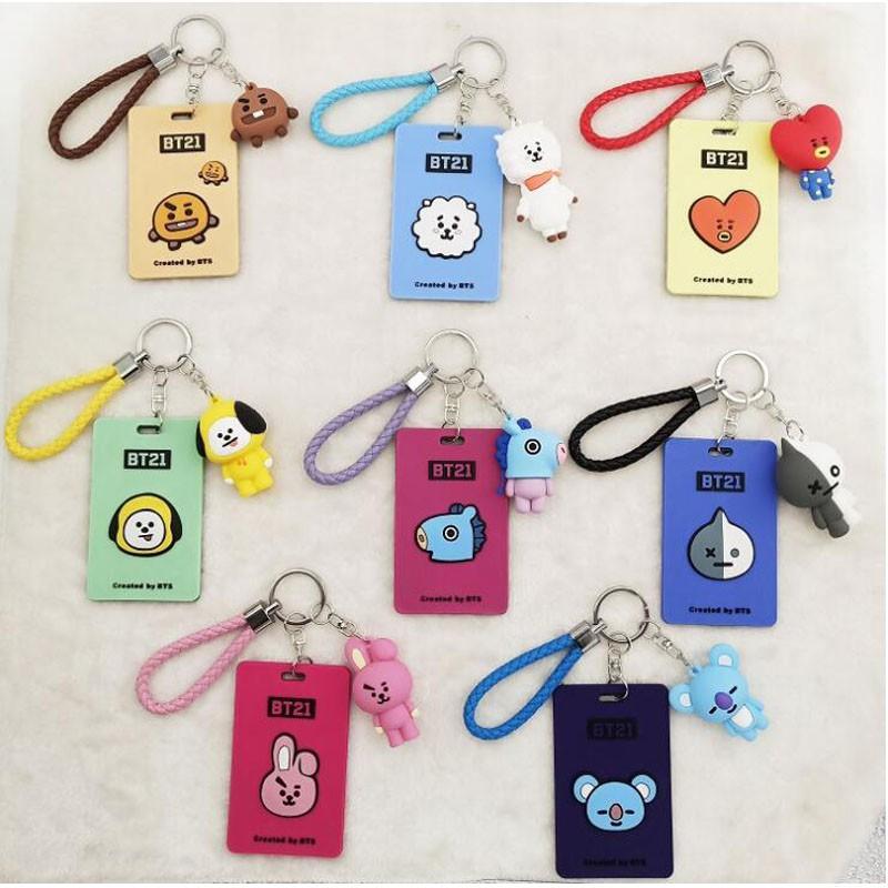 Girl Kids Cartoon Fruit Card Keys Holder For Bus Card ID Card Neck Lanyard