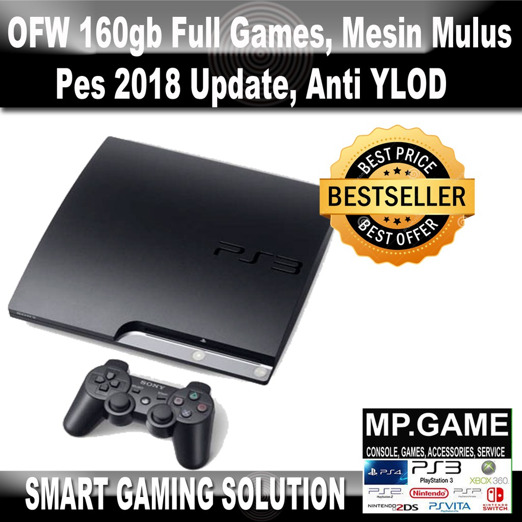 Ps3 Ps 3 Sony Playstation3 Super Slim 160gb Isi Games Original Stik Op Stick Ori Pabrik Playstation 2nd Werles Shopee Indonesia