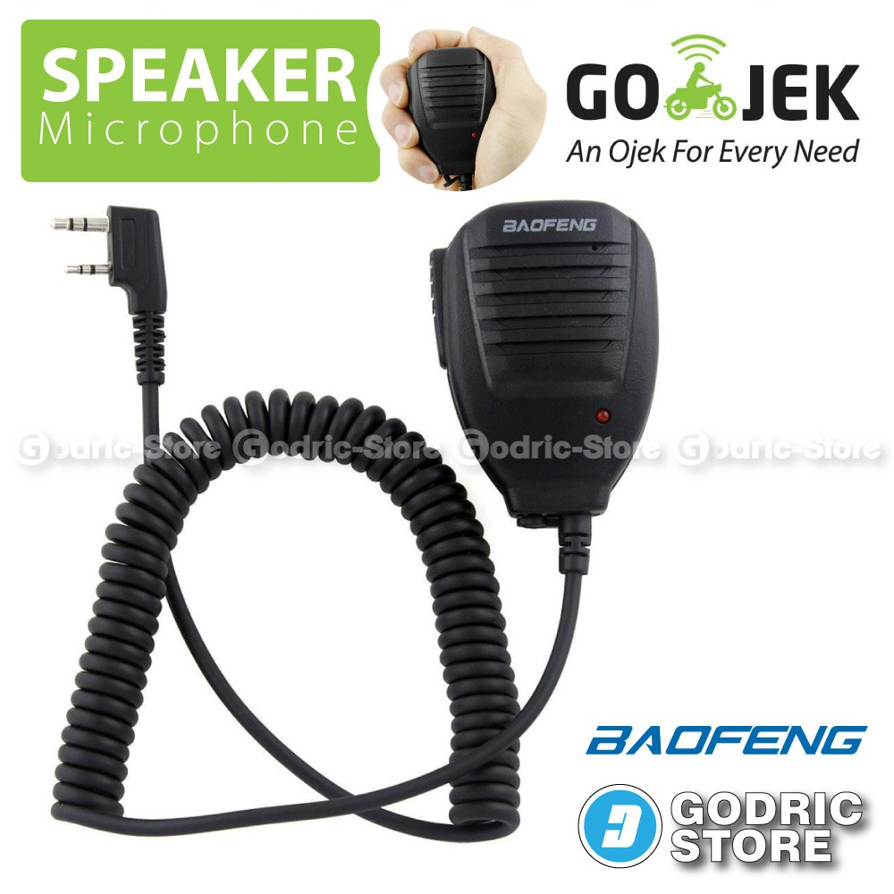 Baofeng Speaker Microphone for Baofeng UV-5R UV5RA UV5RB UV5RC UV5RD U | Shopee Indonesia