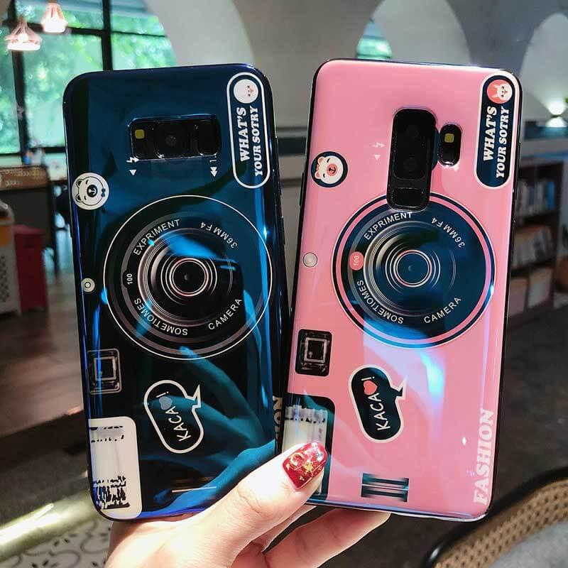 Leshishop Casing Hp Samsung J3 J5 J7 2016 J3 Pro 2017 J5 Pro J7 Pro Camera Soft Case Motif Kamera Blu Ray Penutup Belakang Smartphone Dengan Aksesoris Handphone Murah Dudukan