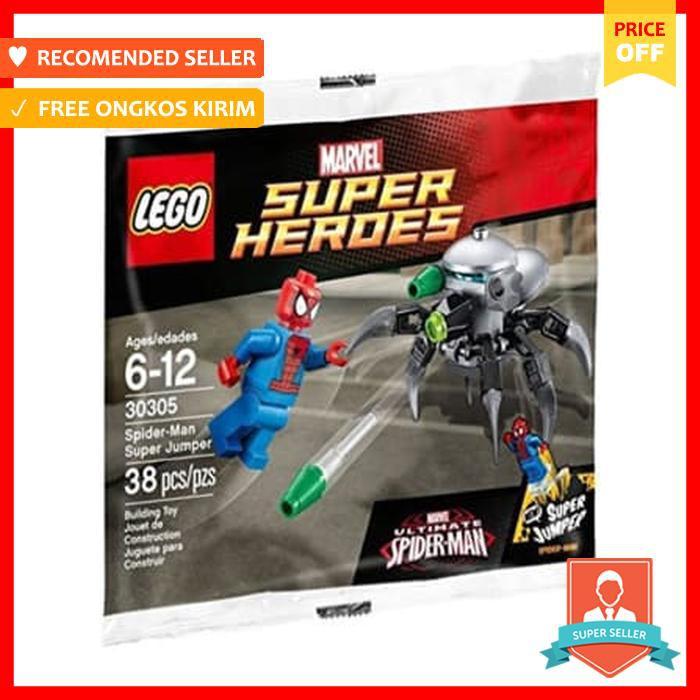 Lego Marvel Super Heroes Spider Man SUPER Jumper 30305