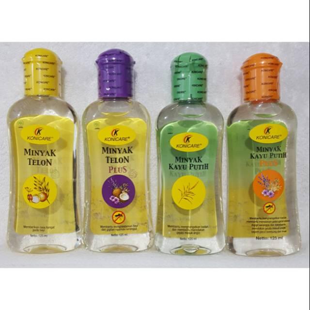 Konicare minyak telon plus / telon kuning 125ml 125 ml | Shopee Indonesia