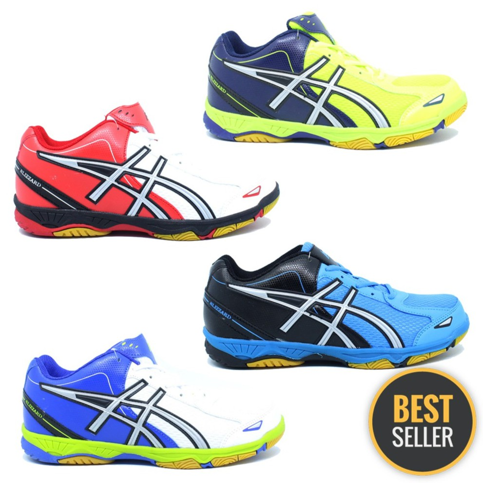 Sepatu Badminton PROFESSIONAL   PROFESIONAL BLIZZARD NEW COLOUR RED ... d340852bee