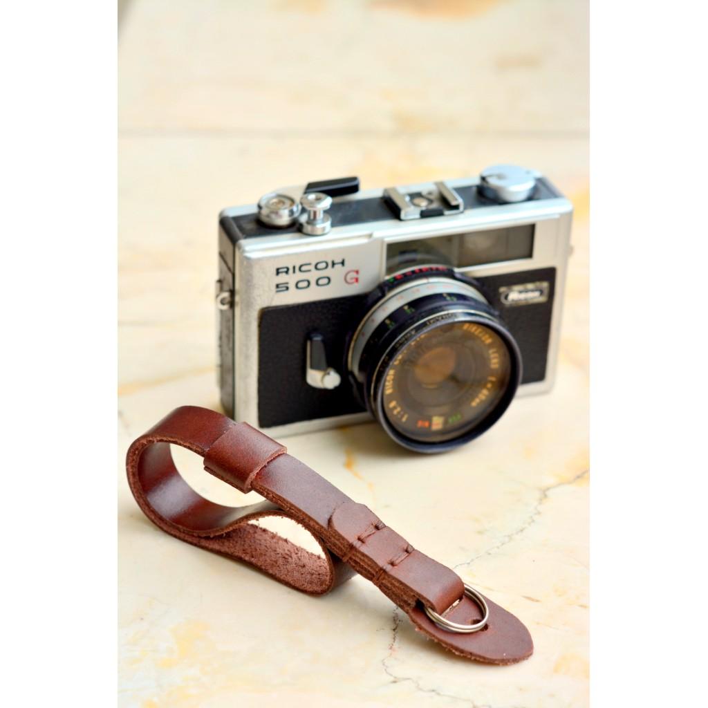 Strap Pegangan Tangan Kamera Bahan Kulit PU untuk Canon EOS Nikon Canon Sony Olympus SLR/DSLR | Shopee Indonesia