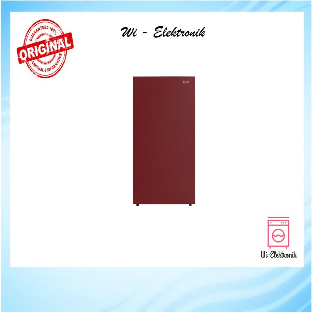Kulkas Sharp / Kulkas 1 Pintu Sharp SJX-165M SR/SG - Merah