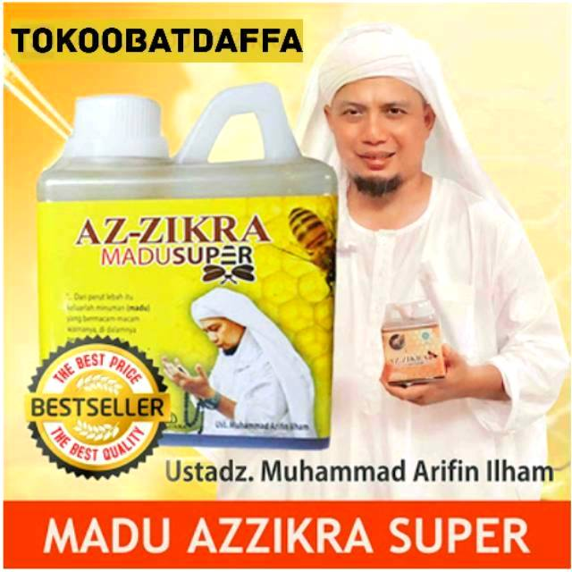 [ ASLI 100% ] + Brosur | MADU HITAM PAHIT AZZIKRA & MADU MANIS SUPER AZZIKRA | AZ ZIKRA | AZ-ZIKRA | Shopee Indonesia