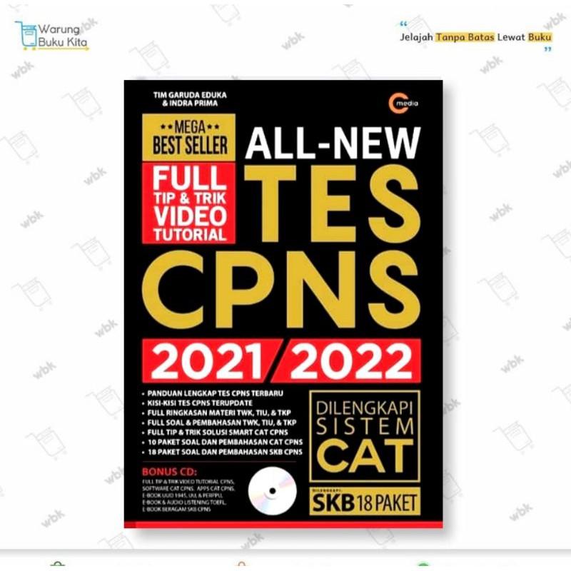 Ready Buku Cpns All New Tes Cpns 2021 2022 Tim Garuda Eduka 100 Original Shopee Indonesia