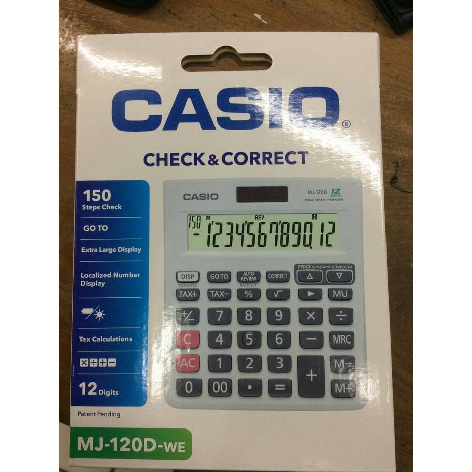 Casio Colorful Calculator Sl 310uc Blue Shopee Indonesia Ms 20uc Black