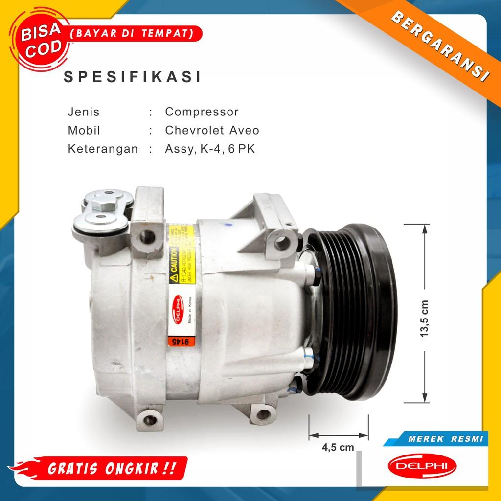 Gratis Ongkir Compressor Kompresor Ac Mobil Chevrolet Aveo Harga Murah Merek Resmi Shopee Indonesia