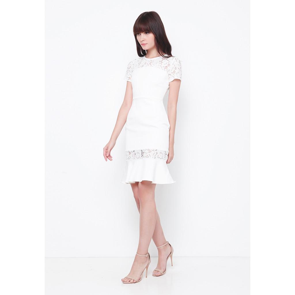 Fargo Pants Caramel Shopee Indonesia Chocochips Sully Dress White Putih S