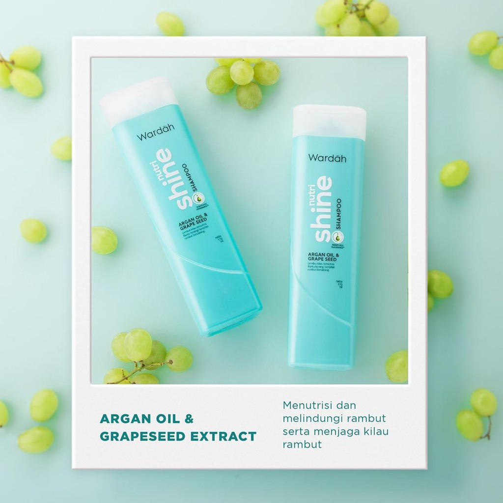 Wardah Nutri Shine Shampoo 170 ml