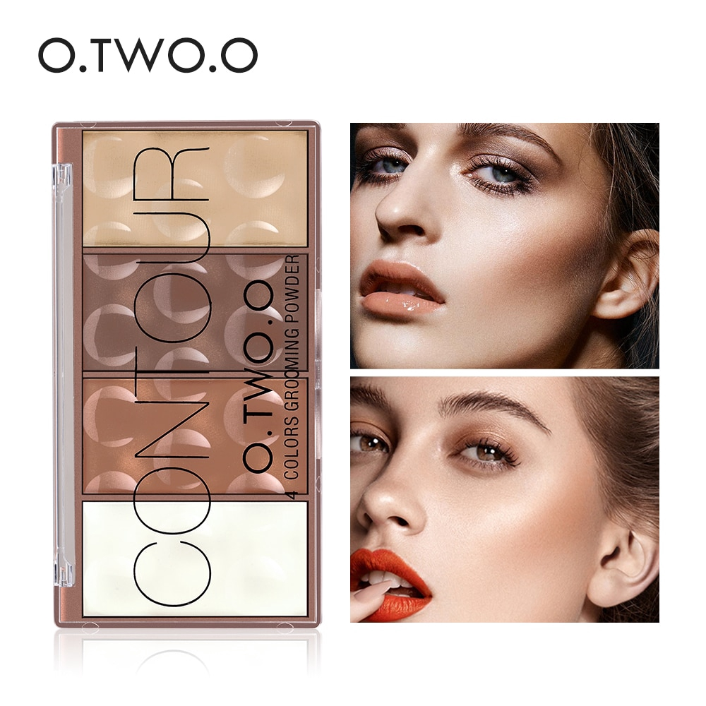 O Two Contour Palette Face Shading
