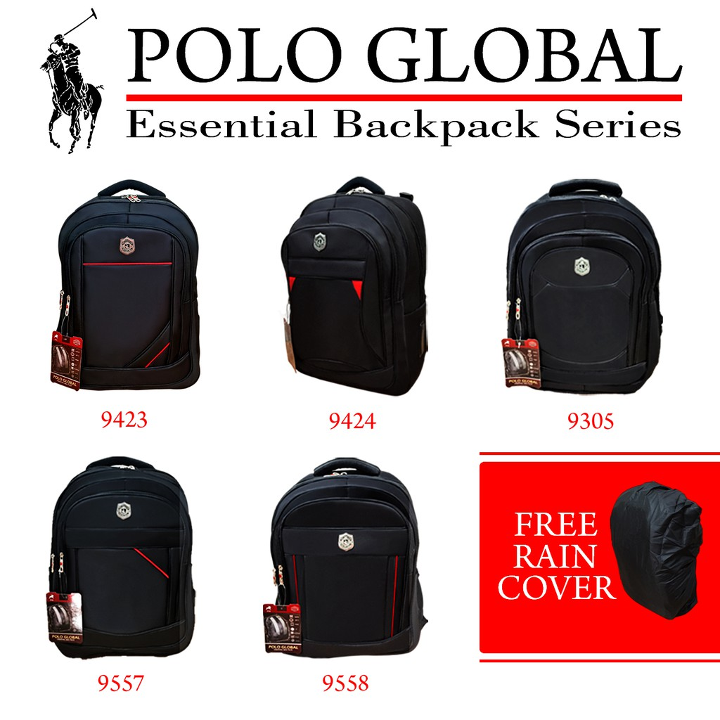 PROMO TAS RANSEL POLO GLOBAL ORIGINAL