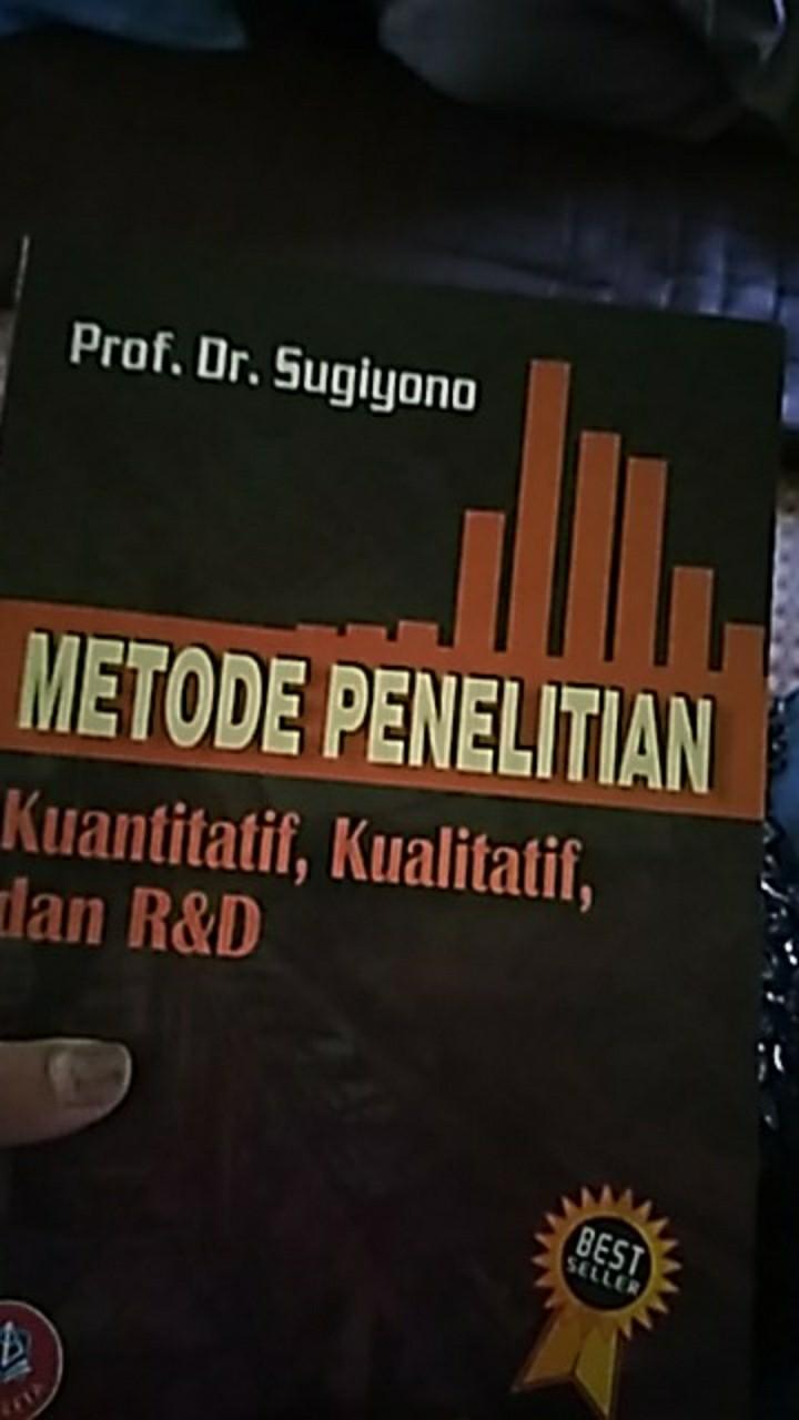 Metode Penelitian Kuantitatif Kualitatif Dan R D Prof Dr Sugiyono Shopee Indonesia
