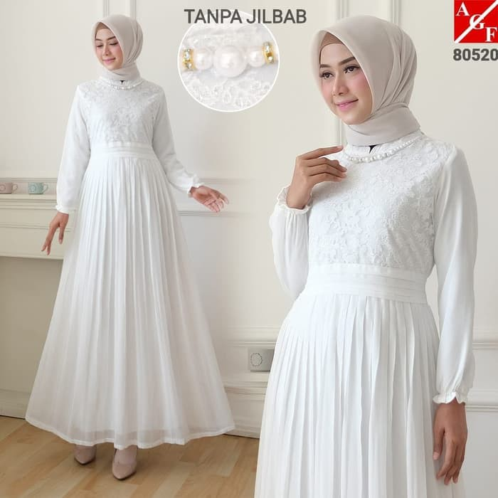 Muslimore Baju Muslim Wanita Gamis Murah Hijau Botol Polos Sya Uo188 Agnes Baju Gamis Wanita Gamis Shopee Indonesia