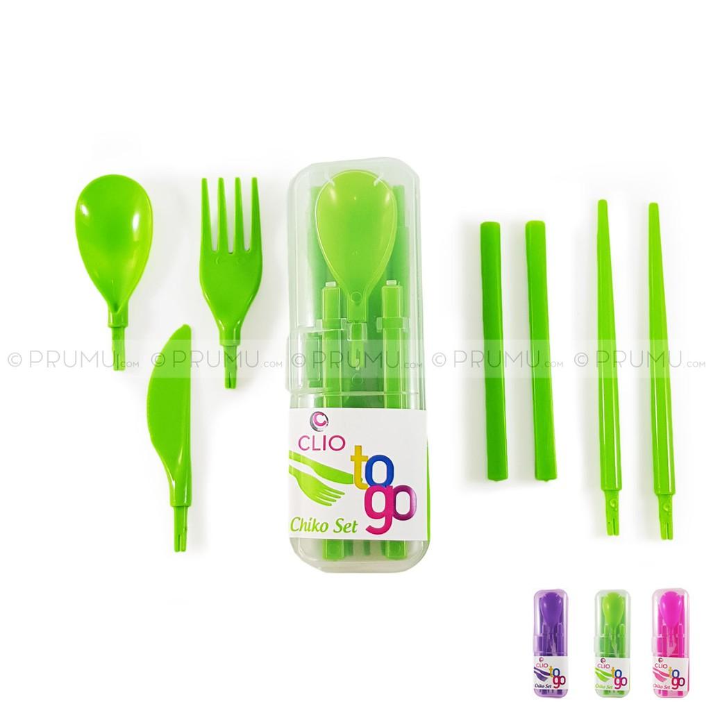 Miniso Portable Cutlery Set Spoon Fork Kotak Alat Makan Sendok A Box Of Garpu Dan Sumpit Stainless Steel Shopee Indonesia