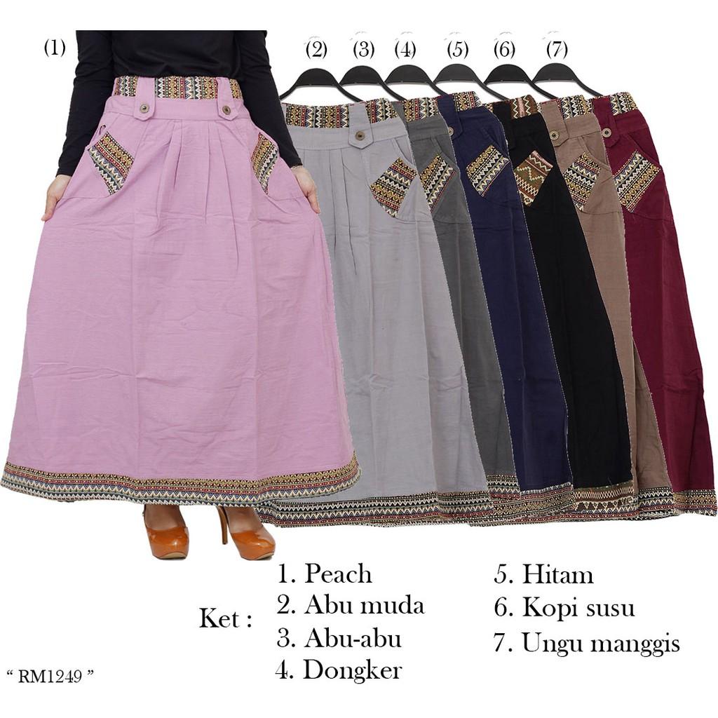 Rok Sifon Pinggang Elastis Hitam6 Daftar Harga Terbaru Dan Celana Abu Jo Nie Panjang Model Payung Long Skirt Katun Cigaret Polos W2561 Shopee Indonesia