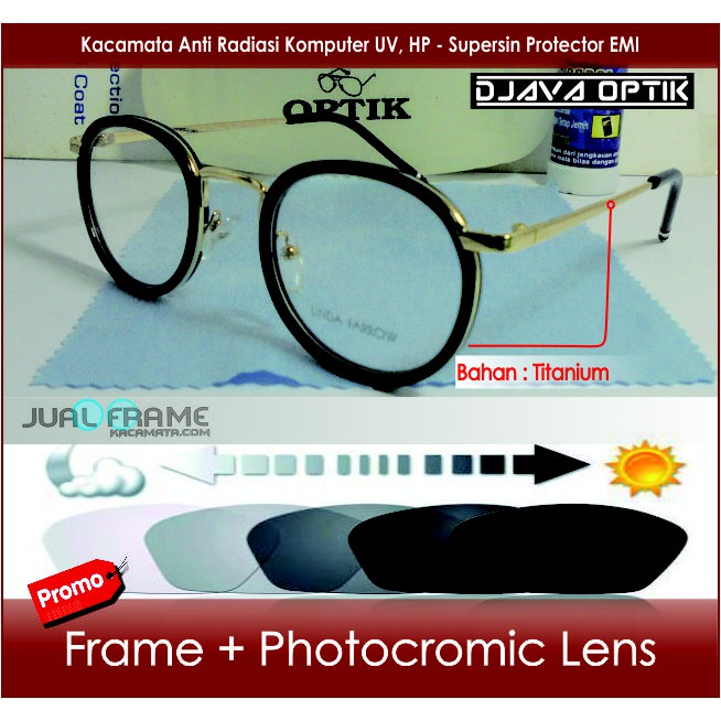 Kacamata Minus 833 Pria + Photocromic Photogrey Lensa Minus Baca Frame Kacamata  Hitam Cewek Wanita  4bd03bbc0f