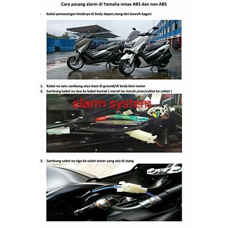 Alarm Motor Spy 5000m Pnp Yamaha Nmax Abs Dan Non Abs Limited
