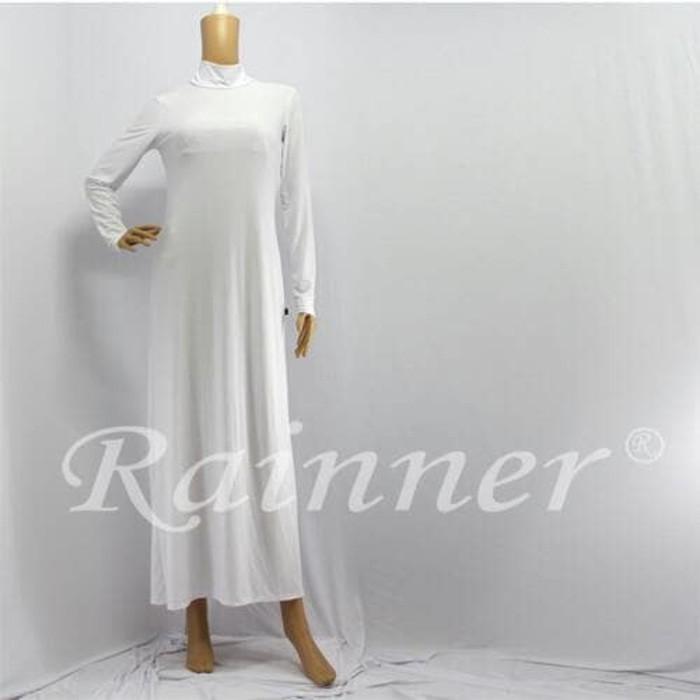 Rainner Manset Gamis/Dalaman Kaftan/Inner Kaftan warna Putih | Shopee Indonesia