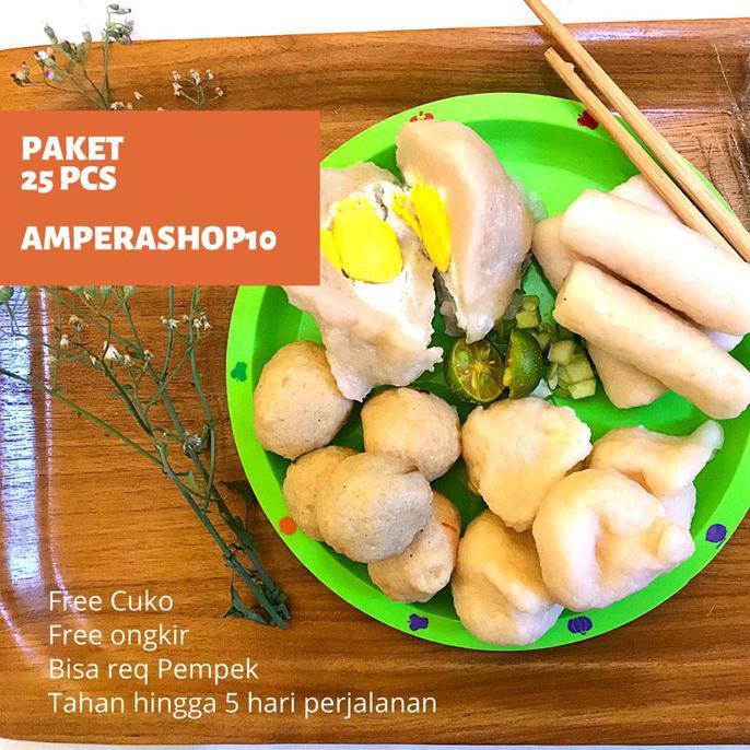 Pempek Palembang 25 Pcs Empek Empek Palembang Mpek Mpek Palembang Asli