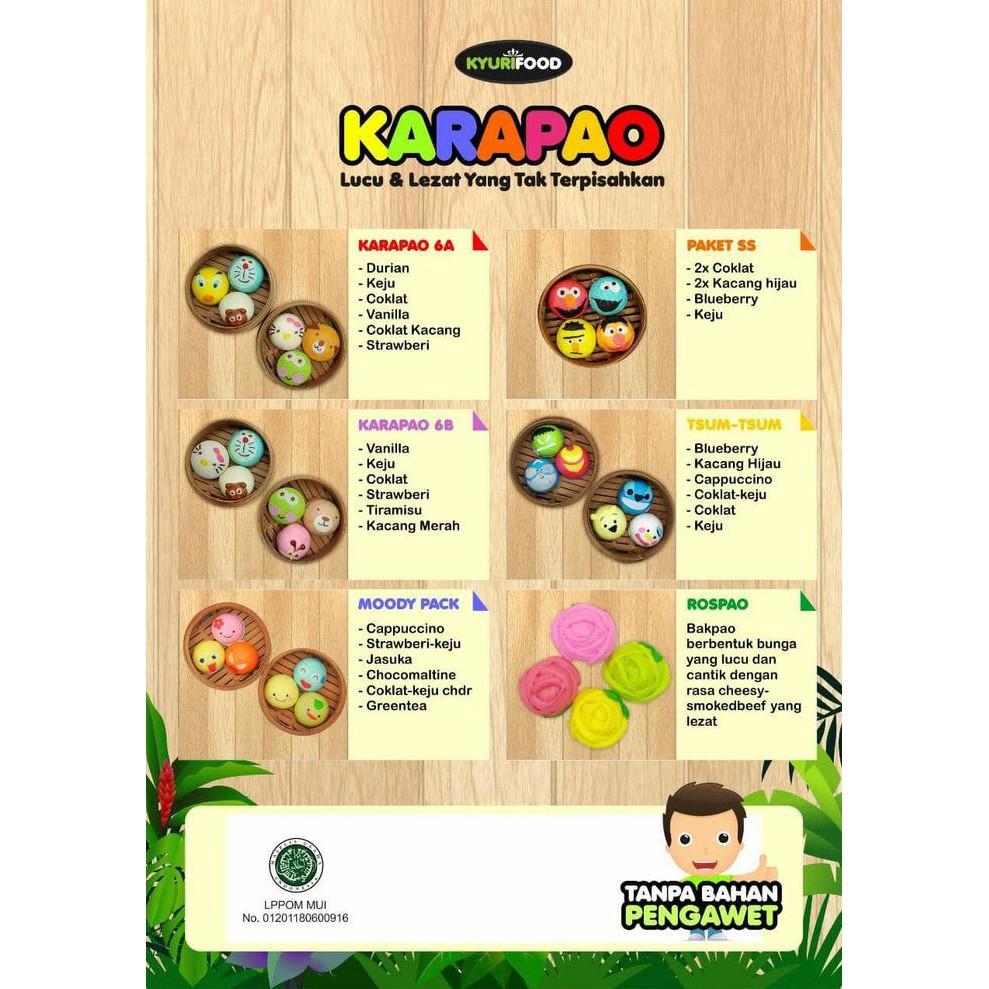 Karapao Beku (Manis) Isi 6 | Shopee Indonesia