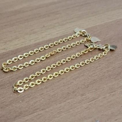gelang rantai dewasa 5 gram emas muda