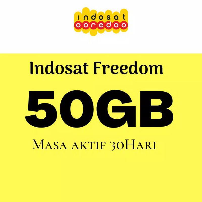 KUOTA INDOSAT FREEDOM COMBO 50GB 30 HARI KUOTA - IM3 OOREDOO