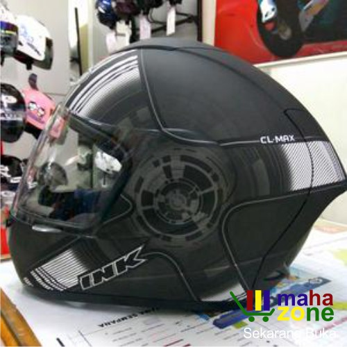 HELM INK CL MAX MOTIF 3 YELLOW FLUO ORANGE RED FLUO FULL FACE   Shopee Indonesia