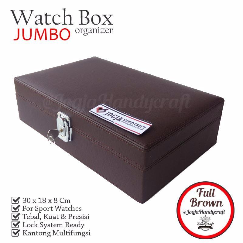 PROMO   Pinky Rose  Watch Box Organizer   Kotak Tempat Jam Tangan Isi 12  a1dfa95dc3