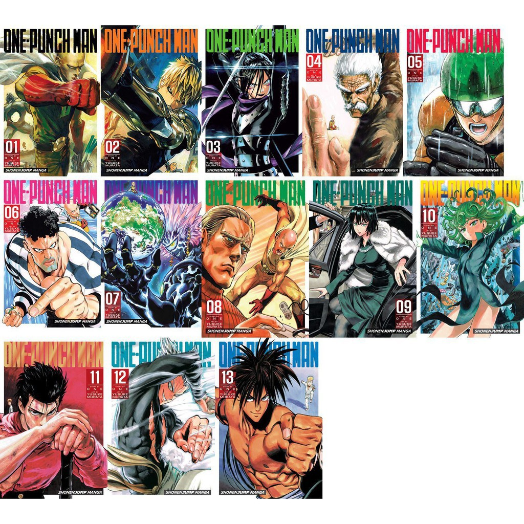 Komik One Punch Man Volume Lengkap Shopee Indonesia