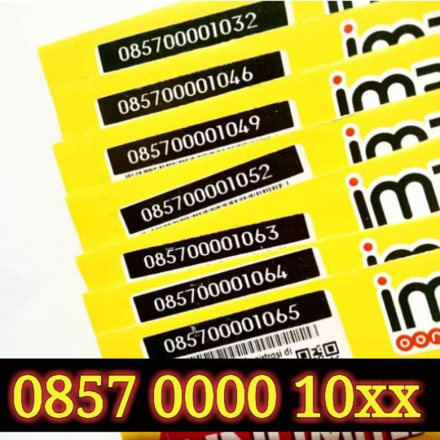 Nomor Cantik IM3 4G LTE INDOSAT OOREDOO TANGGAL BULAN TAHUN LAHIR 11 NOVEMBER PANCA KARTU PERDANA