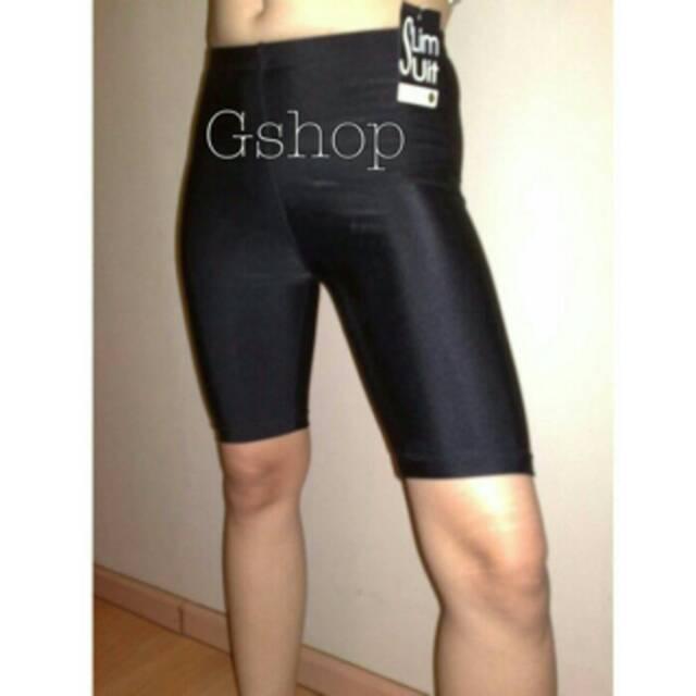 Celana Legging Selutut Futsal Renang Bahan Lycra Shopee Indonesia