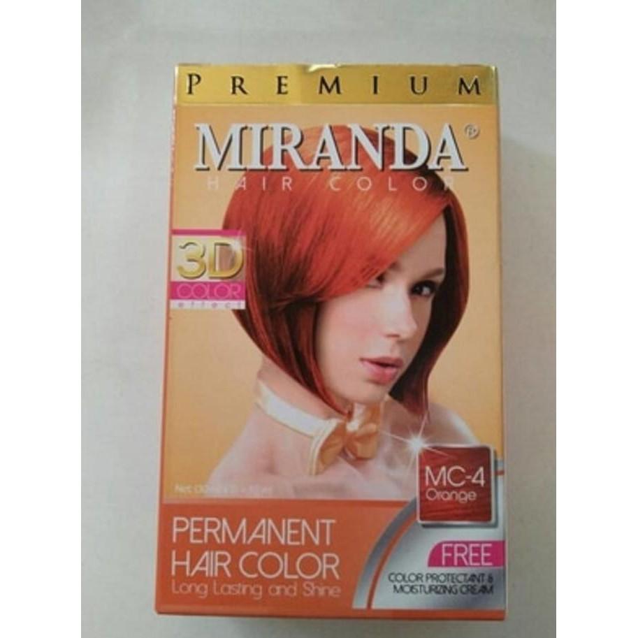 Promo Miranda Hair Color Violet Red Pewarna Cat Rambut Merah Feves Cream Besar  60ml Terlaris Shopee Indonesia