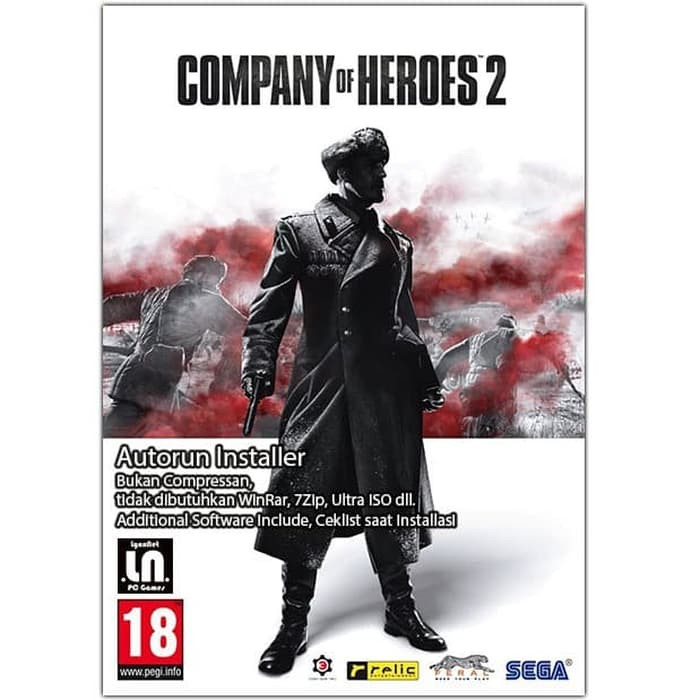 Terbaru Company Of Heroes 2 Pc Dvd Game Limited Shopee Indonesia