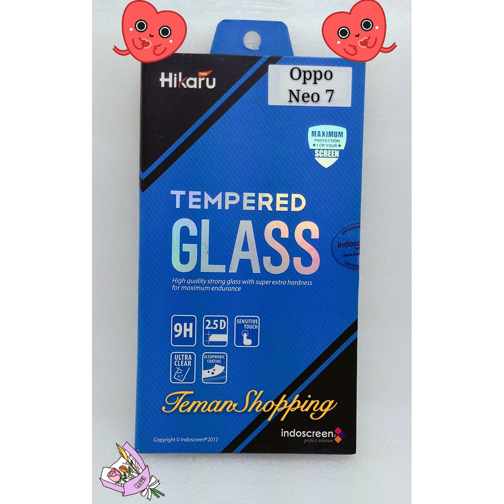 Hikaru Tempered Glass Oppo Neo 7 Full Set Clear Daftar Harga Myuser Meizu M3 Note