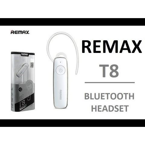Remax RB-T8 Headset Bluetooth Earphone Headphone Original