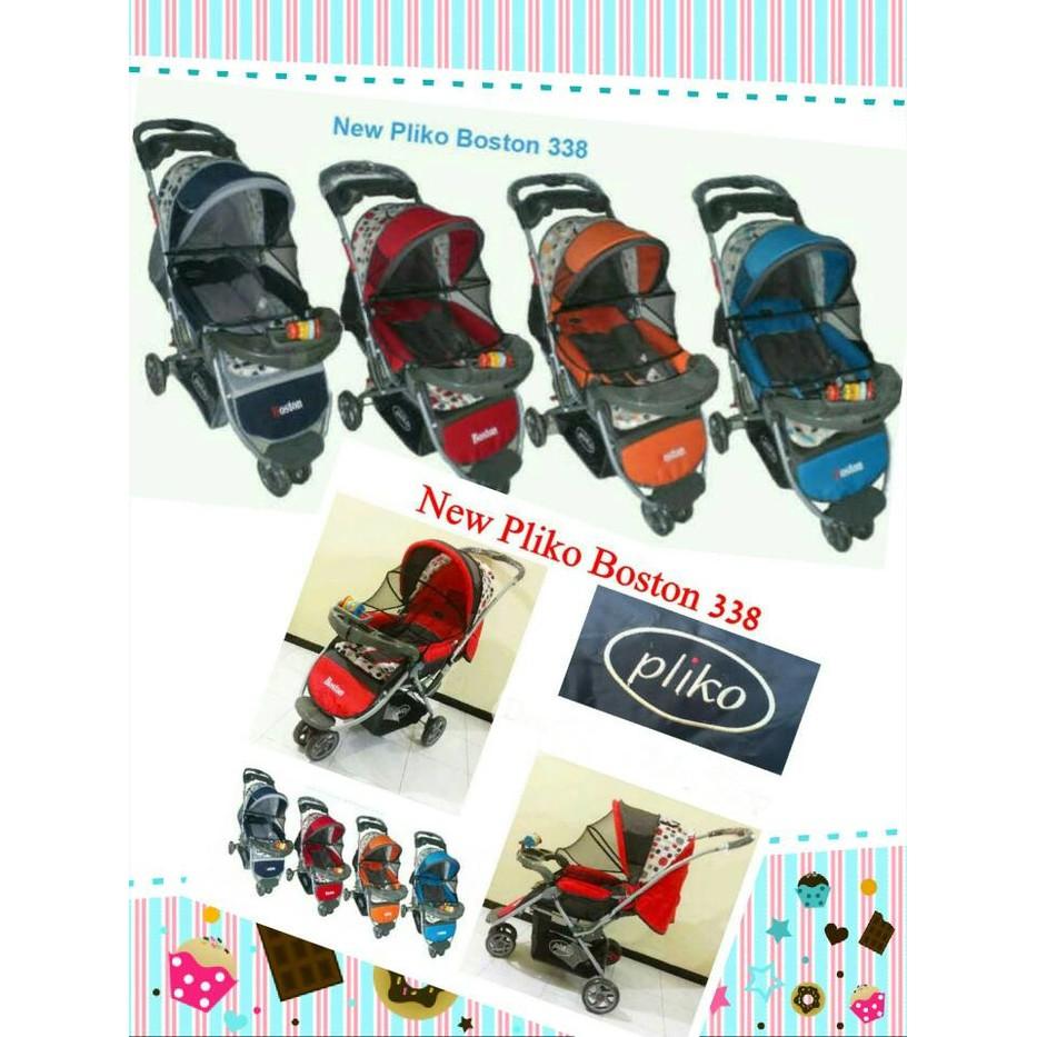 Sepeda Stroller Lipat Anak Roda Tiga Shopee Indonesia Pusat Distributor Baby Strollers Pliko Milano Praktis