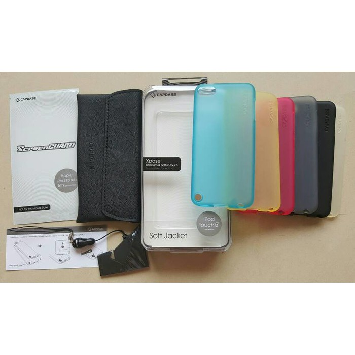 Capdase Soft Case For Ipod Touch 5 Hitam - tempat jual Produk ... 7f3f0bc1b8
